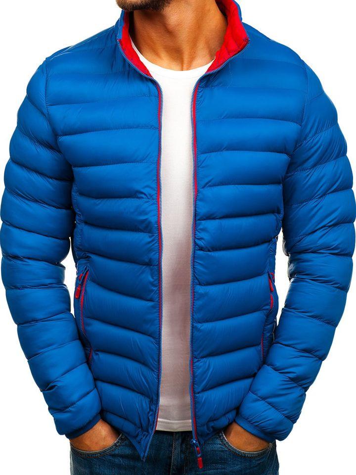 b88f260db84 Chaqueta de invierno deportiva para hombre azul Bolf SM11 AZUL