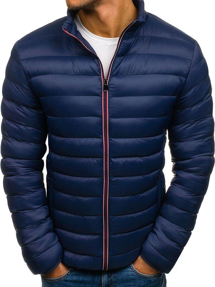 f4f1ce234c2 Chaqueta de invierno deportiva para hombre azul oscuro Bolf JS505 AZUL  OSCURO