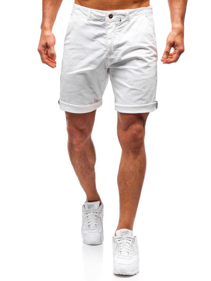 4070222a7d Pantalón corto para hombre blanco Bolf 5919 BLANCO