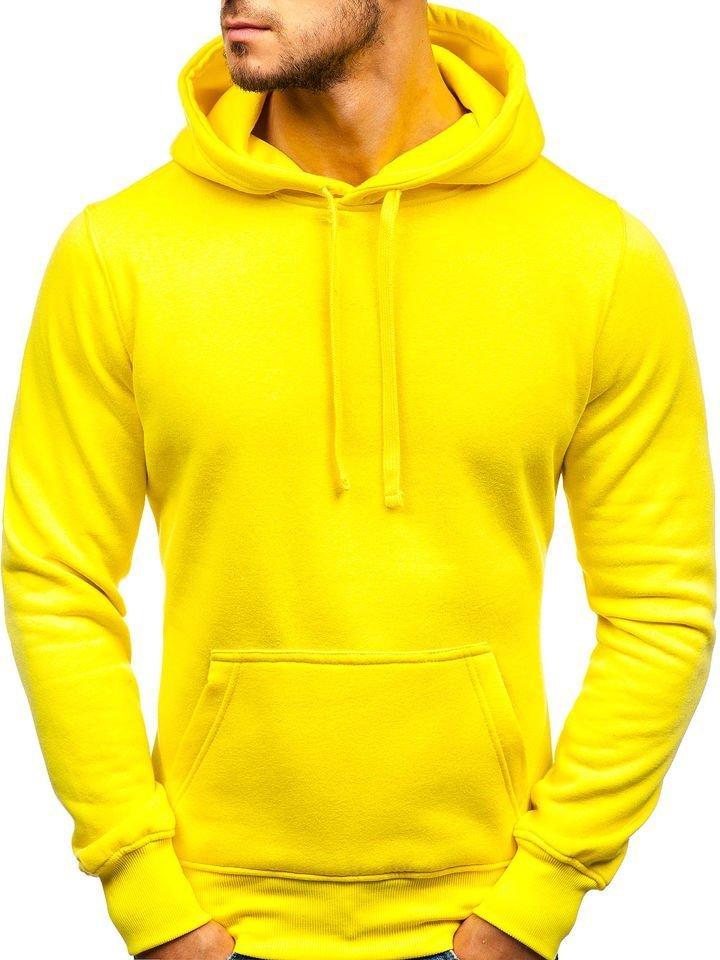 la mejor actitud 0f2f4 2eca6 Sudadera con capucha para hombre amarilla clara Bolf AK47A