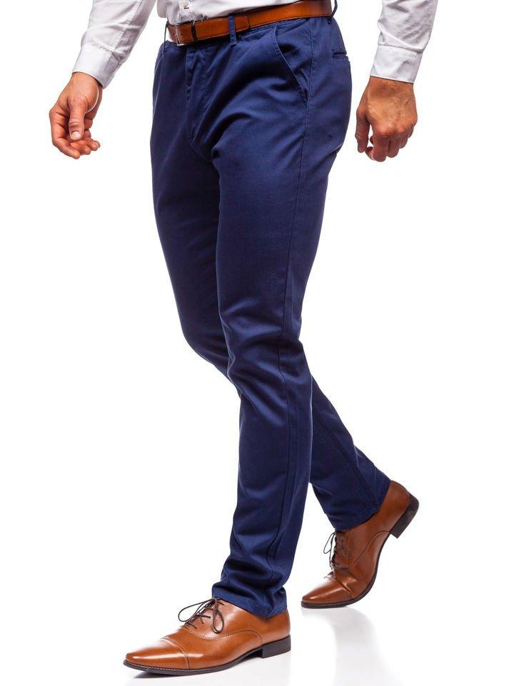 Pantalon Chino Para Hombre Azul Oscuro Bolf Ka968 Azul Oscuro