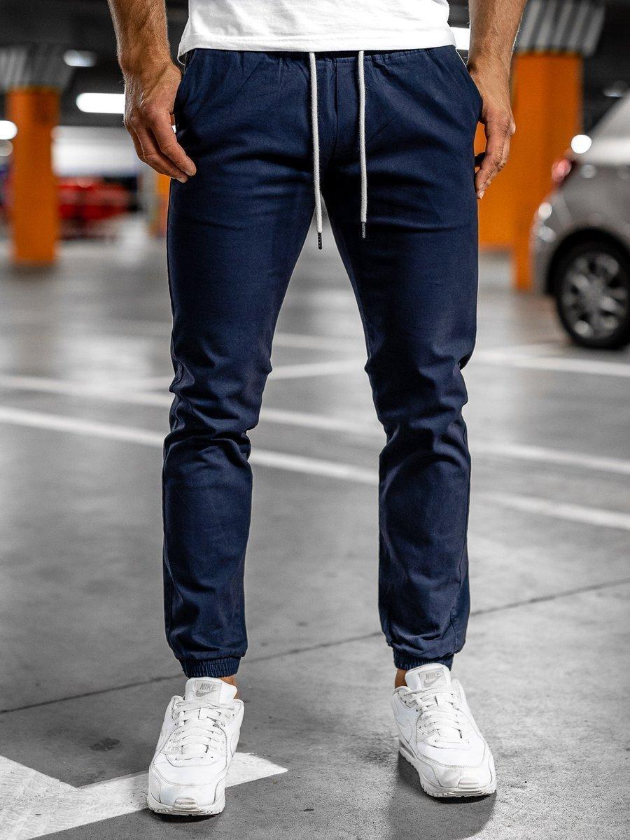 Pantalon Jogger Para Hombre Azul Oscuro Bolf 1145 Azul Oscuro