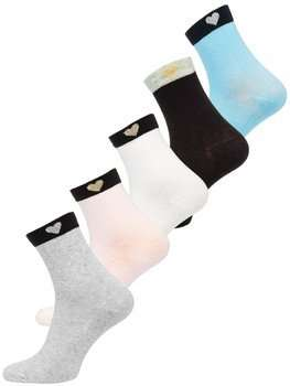 Calcetines de mujer multicolor Bolf X20305-5P 5 PACK