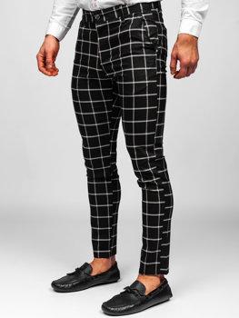 Pantalones Elegantes Negros Para Hombre Coleccion 2021