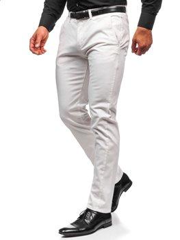 Pantalones Blancos De Tela Ligera Para Hombre Coleccion 2021