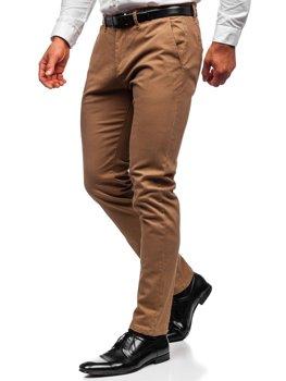 Pantalones Chinos Naranjas Para Hombre Coleccion 2021