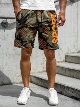 Pantalones Cortos Verdes De Deporte Para Hombre Coleccion 2020