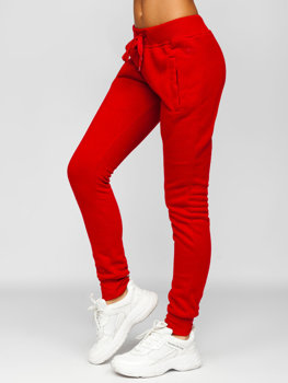 Pantalon Deportivo Para Mujer Rojos Coleccion 2021