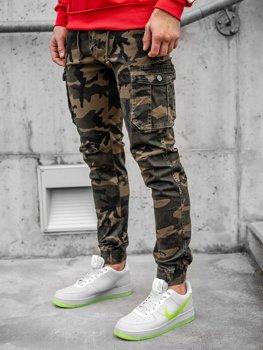 Pantalones Baggy Marrones Para Hombre Coleccion 2021