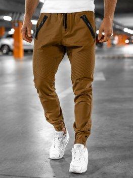 Pantalones Jogger Naranjas Para Hombre Coleccion 2021