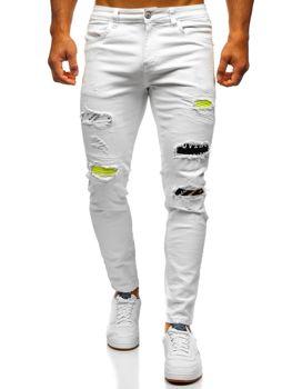 Pantalones Slim Fit Blancos Para Hombre Coleccion 2020