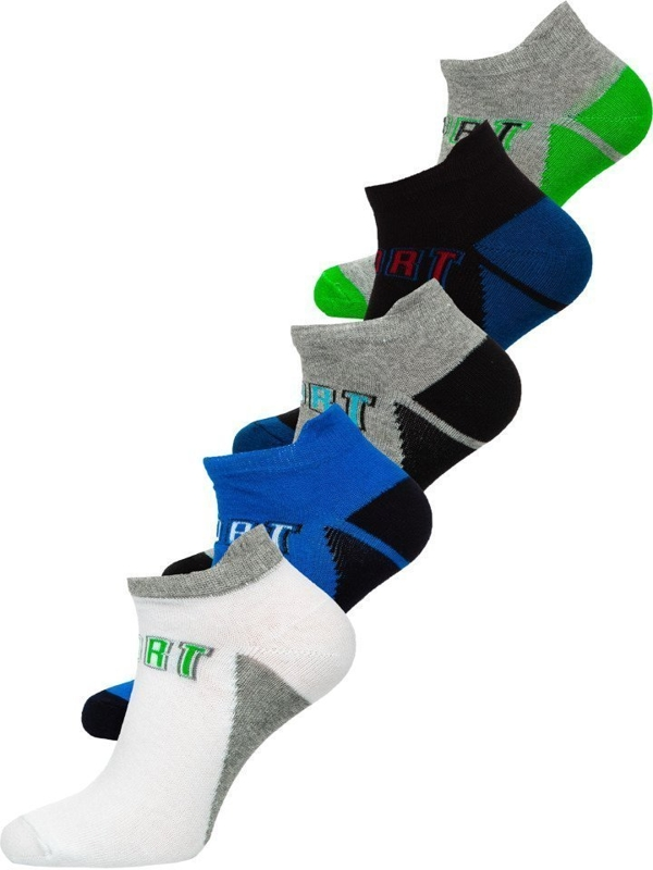 Calcetines Bolf para hombre multicolor X10033-5P 5 PACK