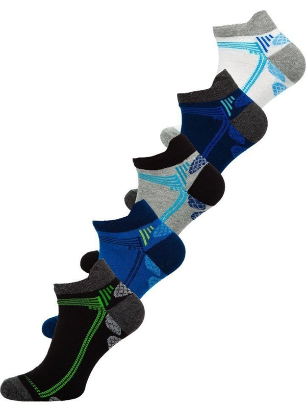 Calcetines Bolf para hombre multicolor X10054-5P 5 PACK