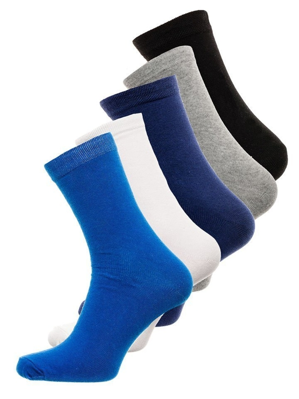Calcetines para hombre multicolor Bolf X10003-5P 5 PACK