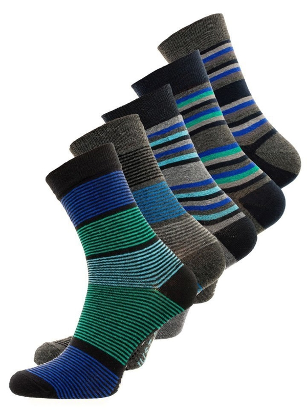Calcetines para hombre multicolor Bolf X10026-5P 5 PACK