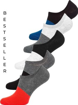 Calcetines para hombre multicolor Bolf X10168-5P 5 PACK