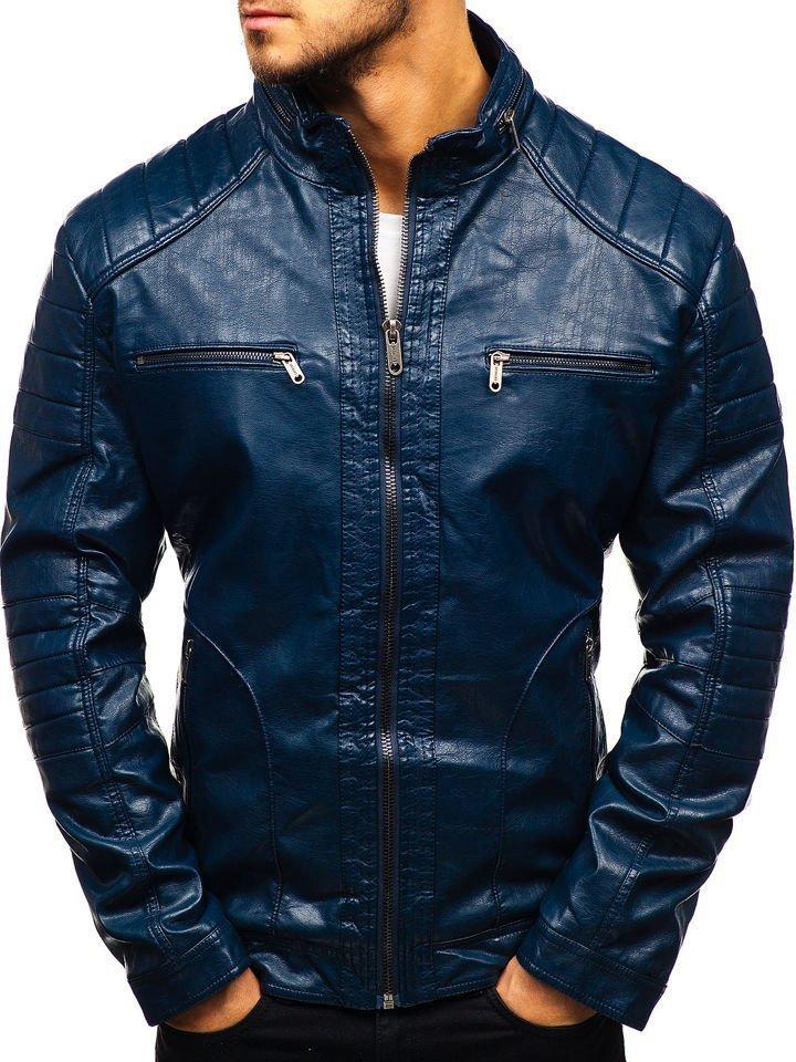 chaquetas de cuero para hombre precios