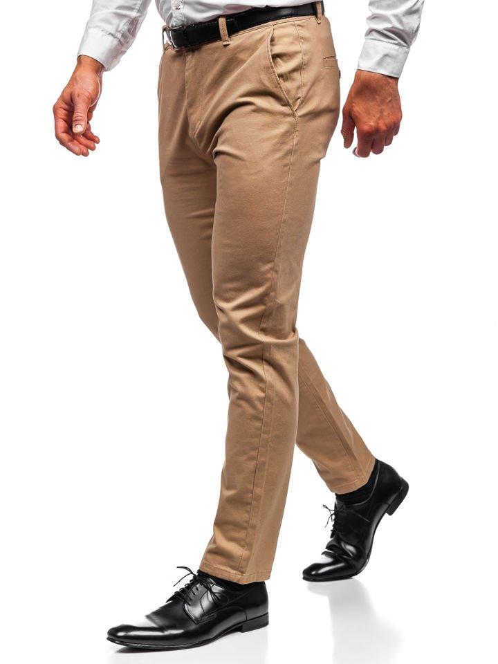 Pantalón chino para hombre beige Bolf 1120 BEIGE