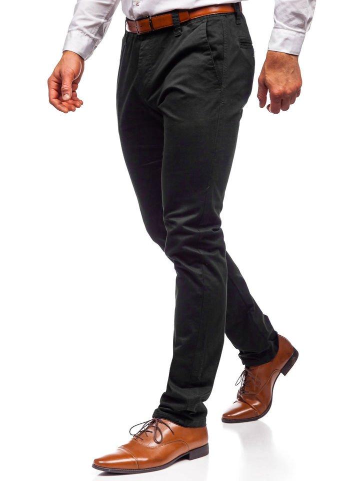 Pantalón chino para hombre negro Bolf KA6807 NEGRO