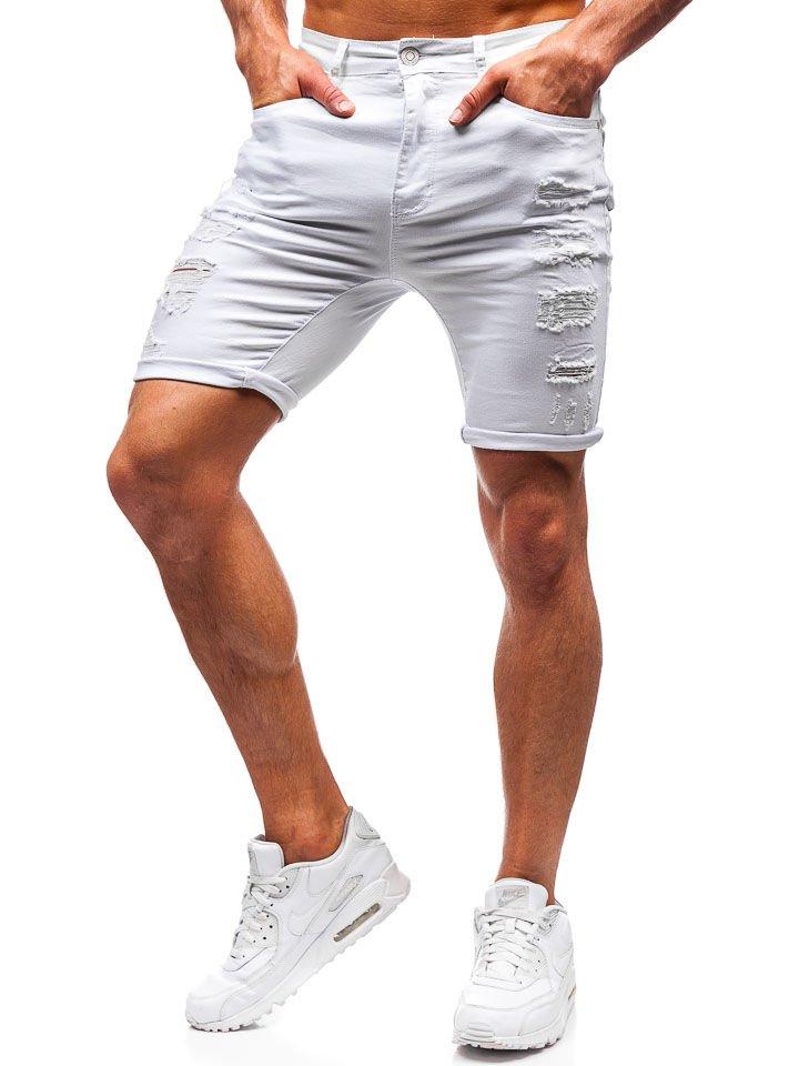 Corto Hombre T392 Vaquero Blanco Para Pantalón Bolf QdxeWrBCo