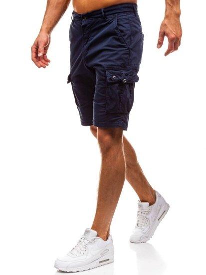 53a8338dc Pantalón corto cargo para hombre azul oscuro Bolf 82223 AZUL OSCURO