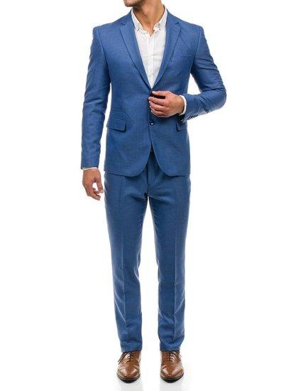 6075a1a15f4e1 Traje para hombre azul claro bolf azul claro jpg 413x550 Traje azul claro